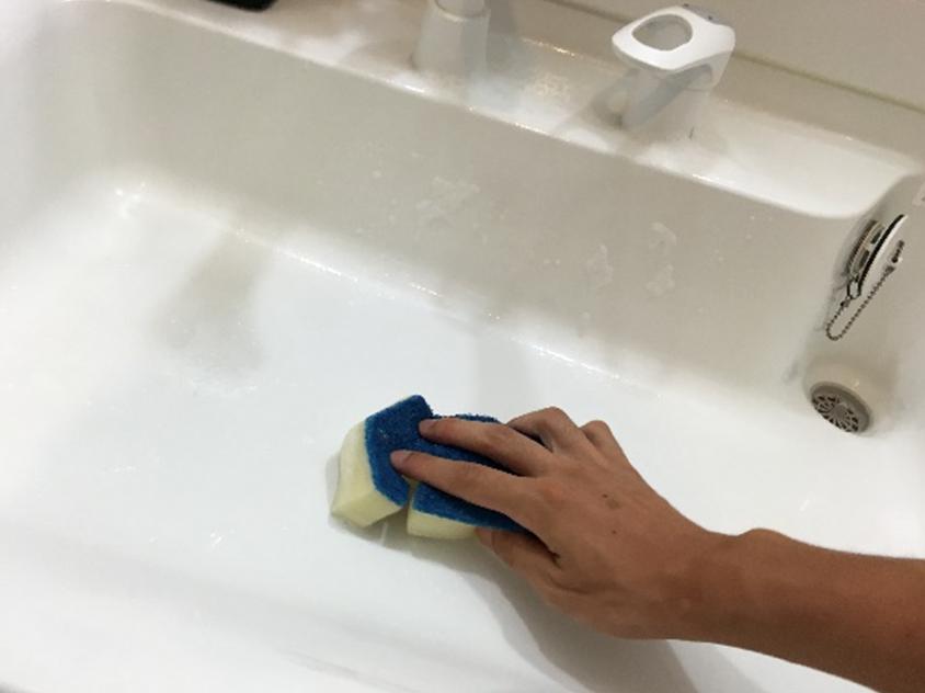 洗面台のおそうじのしかた2